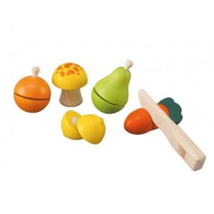 Set de joaca interactiv, Fructe si Legume, PlanToys